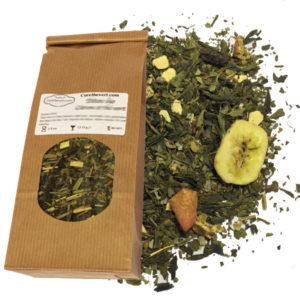 Détox bio orange et thé vert